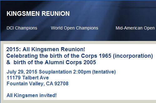 Kingsmen Reunion